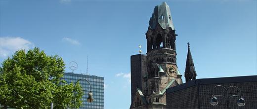 Breitscheidplatz mit Gedächtniskirche und EuropaCenter